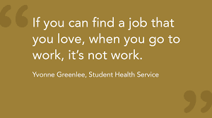 Find A Job You Love Quote Inspiration People Wake Forest University Careers