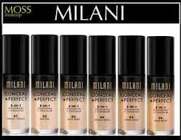 image is loading milani makeup conceal perfect 2 in 1 foundation