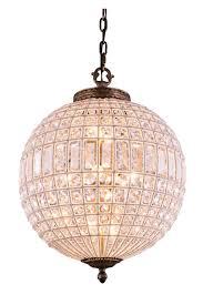 globe lighting chandelier. Chandeliers Design:Wonderful Crystal Globe Chandelier Lucienne Light Pendant In French Gold Lighting Lamp