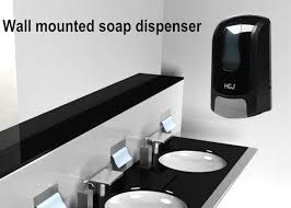 Commercial Bathroom Paper Towel Dispenser Cool Adjustable Dose Commercial Wall Mounted Hand Soap Dispenser For Bathroom