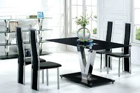black kitchen table set modern kitchen table and chairs kitchen cabinet designs ideas black dining room