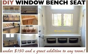 Window seat with storage Build Inspiring Window Seat Storage Bench Diy Wooden Window Bench Seat With Storage Removeandreplace House Garden Inspiring Window Seat Storage Bench Diy Wooden Window Bench Seat