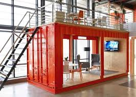 outside the box office. An Outside The Box Office With A Waiting Room Inside Shipping Container