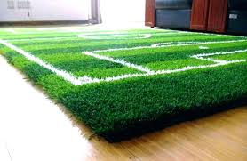 football area rug soccer field rugs