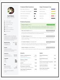One Page Resume Template.