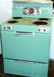 ranges for sale. Retro Electric Ranges Inc Refrigeration Vintage Stoves For Sale Range Antique Kitchen