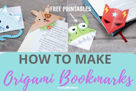 Free easter coloring pages (free and printable). How To Make Origami Bookmarks Free Printable Making Life Blissful