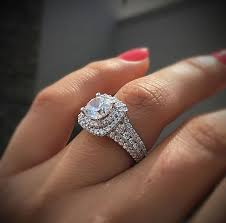 25 cute double halo engagement ring ideas
