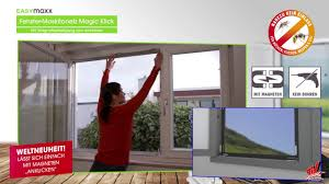 Fenster Moskitonetz Magic Klick Bei Angela Bruderer Youtube