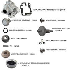 KitchenAid 6 Quart Mixer Gear Assembly Kit