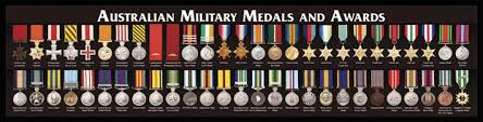 Army Awards And Medals Chart Australian Military Medals And Awards Military Awards