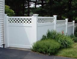 vinyl lattice fence panels. 50 Lattice Fence Design Ideas (Pictures Of Popular Types) Vinyl Panels T