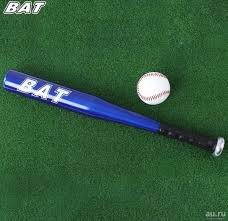 <b>Синяя бейсбольная бита</b> BAT — купить в Красноярске ...