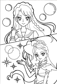 Princess Precure Minami Cure Mermaid Pretty