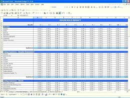 Income And Expenses Spreadsheet Small Business Free