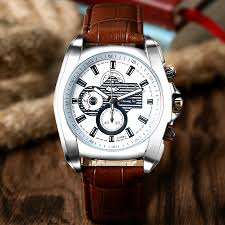 trendy watches for men 2013 promotion shop for promotional trendy 2016 mens watches top brand luxury quartz watch fashion trendy leather band dress watches for men relogios masculinos