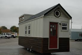 tiny house on wheels builders. Tiny House On Wheels Cost Construction Plan To Build, Red Door, Brown And White Wall, Nice Roof Design, Comfortable Builders