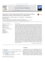 Freezers are more heavily insulated than refrigerators (due to colder temperatures inside), so when a freezer is converted, it is more efficient. Pdf Life Cycle Assessment Of A Commercial Refrigeration System Under Different Use Configurations