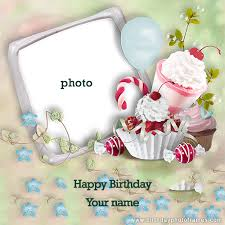 birthday wishes greeting card with name
