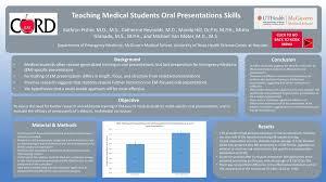 Medical Presentations Teaching Medical Students Oral Presentations Skills Ppt Download