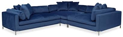 living room furniture moda 3 piece sectional with chaise