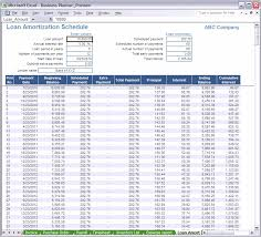 excel loan amortization schedule spreadsheet