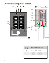 wiring diagram for a gfci breaker wiring image 240 wiring diagrams residential wiring diagram schematics on wiring diagram for a gfci breaker