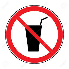 On Not White Do Stock 48863744 Royalty Drink Sign Vectors Background No Free Image Cliparts Icon Illustration Isolated And