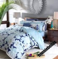 blue twin duvet cover sky gardenia comforter set fl light