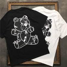 Купите cartoon bear <b>printed</b> cotton онлайн в приложении ...