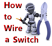how to wire a switch light then switch and outlet on wire switch