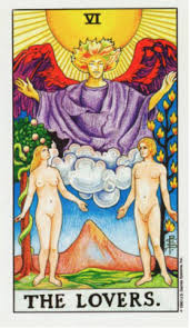 Image result for the lovers tarot card images