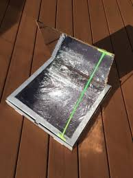 Solar Oven Temperature Chart How To Make A Pizza Box Solar Oven 12 Steps With Pictures