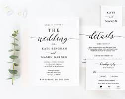 invitation t wedding invitations etsy nz