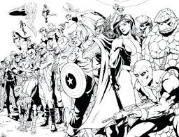 Adult Marvel Coloring Pages Coloring Sheets Adults Easy Geometric