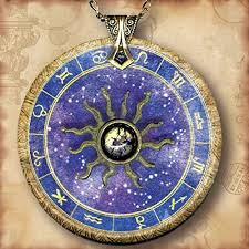 Amazon Com Astrology Chart Zodiac Necklace Personalized