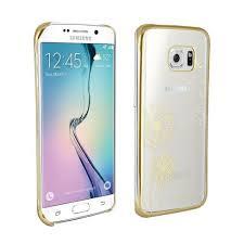 samsung galaxy s6 gold case. protective case samsung galaxy s6 edge dandelion freedom flower edition design transparent gold r
