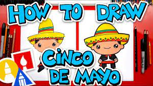 How To Draw A Cinco De Mayo Boy - YouTube