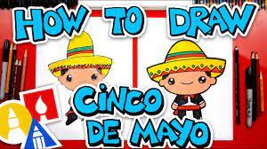 How To Draw A Cinco De Mayo Boy - YouTube