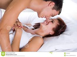 Lovely Couple In Bed Lying In Bedroom Lovely Couple In Bed Royalty Free Stock Photo Image 35543585