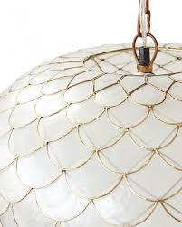 capiz shell pendant light and capiz chandelier