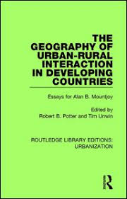the geography of urban rural interaction in developing countries  originally published in 1989 the geography of urban rural interaction in developing countries addresses the nature and importance of the interaction