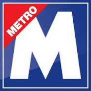 Image result for Metro.co.uk LOGO