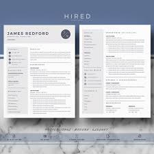 Editable Resume Template Custom Professional Resume Template Resume CV Templates For Word