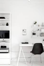 office work space. black and white workspaces office work space
