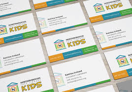 Northborough Free Library Business Cards Kids Department Stirling
