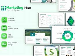 Sample Marketing Plan Powerpoint Marketing Plan Powerpoint Template By Templates On Dribbble