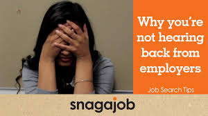 job search tips part why you re not hearing back from job search tips part 5 why you re not hearing back from employers
