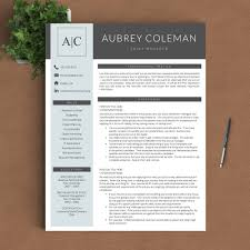 Resume Template Reviews Professional Resume Template The Coleman Landed Design Solutions 18