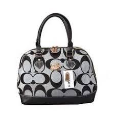 Coach Madison Signature Medium Grey Satchels DOL Coach Handbags, Coach  Purses, Handbags Michael Kors